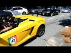 Lamborghini LP570-4 Performante LOUD revving!