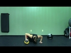 Medicine Ball Push Up - HASfit Push Up Exercise Demonstration - Medicine Ball Pushup