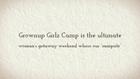 All-inclusive Women's Weekend Getaway - Grownup Girlz Camp