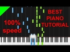 Pachelbel - Canon in D easy piano tutorial