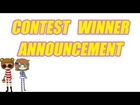 ANIMAL CROSSING NEW LEAF CONTEST WINNER ANNOUNCEMENT VIDEO