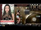 Card 824  Aletta Ocean - Black Dragon - Sexy Virtua Girl HD Germany VGHD Desktop Babes
