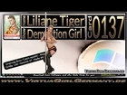 Card 0137 - Liliane Tiger - Demolition Girl - Sexy Virtua Girl HD Germany VGHD Desktop Babes