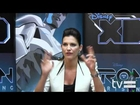 TRON: Uprising (Disney XD): Tricia Helfer Interview