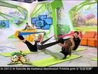 Workout Pilates cu benzi elastice Marga Balan B Energy la Neatza cu Razvan si Dani, Antena 1