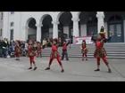 Students of Rhythms Bollywood dance :Disco Deewane