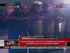 QRT: Daan-daang pulis at tuahan ng MMDA, ipinakalat sa concert venue ni Lady Gaga