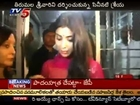Tollywood Sexy Actress Shriya Saran Shines At Tirumala Temple (TV5)
