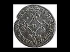 1675 D France Louis XIV silver 4 sols 4