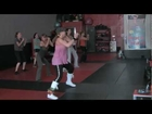 Eartha Baca Zumba Fitness Sherman Oaks 6 1/2 mo. pregnant - MARE BIP