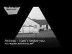 Actress - I can't forgive you