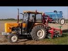 Siew pszenicy, pszenżyta i nawozu 2011 Ursus c-360 3P + agregat uprawowo-siewny Agro-masz