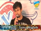 Sonu Nigam arrives for the song launch of Luv you Soniyo