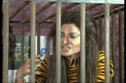Gauhar Khan and Negar Khan photoshoot for Peta in protest of Tiger