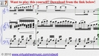 Pachelbel's Canon in D sheet music - Video Score