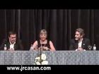 Julia Otero, habla de la prensa en Monforte