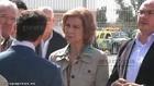 La Reina Sofía visita Puerto Lumbreras