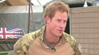 Interview du Prince Harry au terme de sa mission en Afghanistan