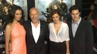 Bruce Willis Brings His Sexy Family And Adrianne Palicki Shows Skin At GI Joe Premiere