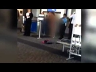 Woman Strips Naked at Denver Airport  April 11,2012 Raw Video